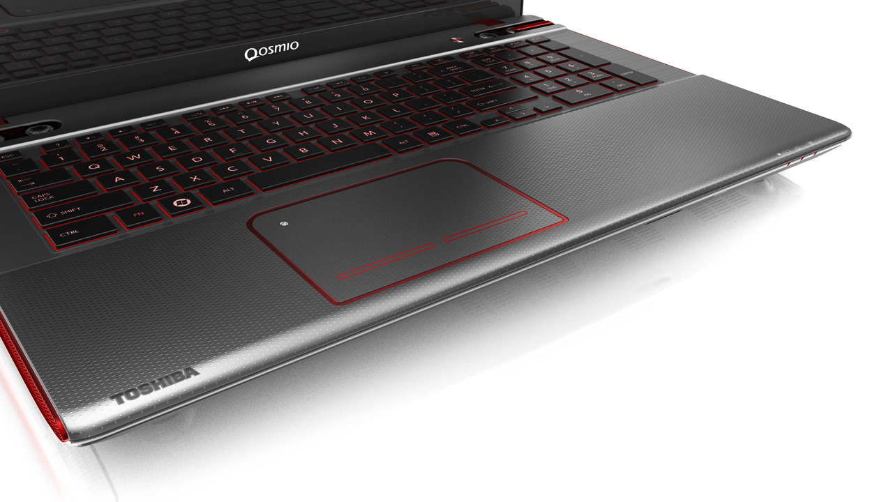 Toshiba Qosmio, product visualization Cinema 4D, advanced render
