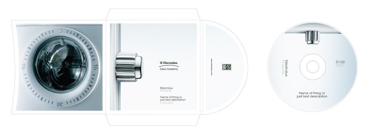 Electrolux, CD & case